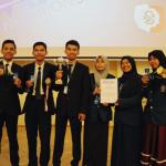 Tiga Mahasiswa Depertemen Kimia Menyabet 4 Penghargaan Bergengsi di ajang XII International Warsaw Invention Show (IWIS), Warsaw University of Technology, Polandia