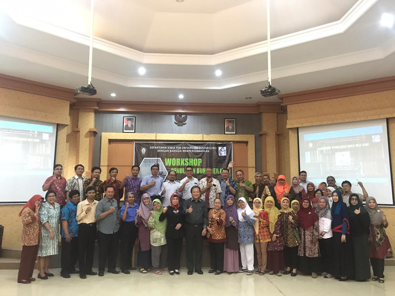 Workshop Penulisan Buku Ber-ISBN