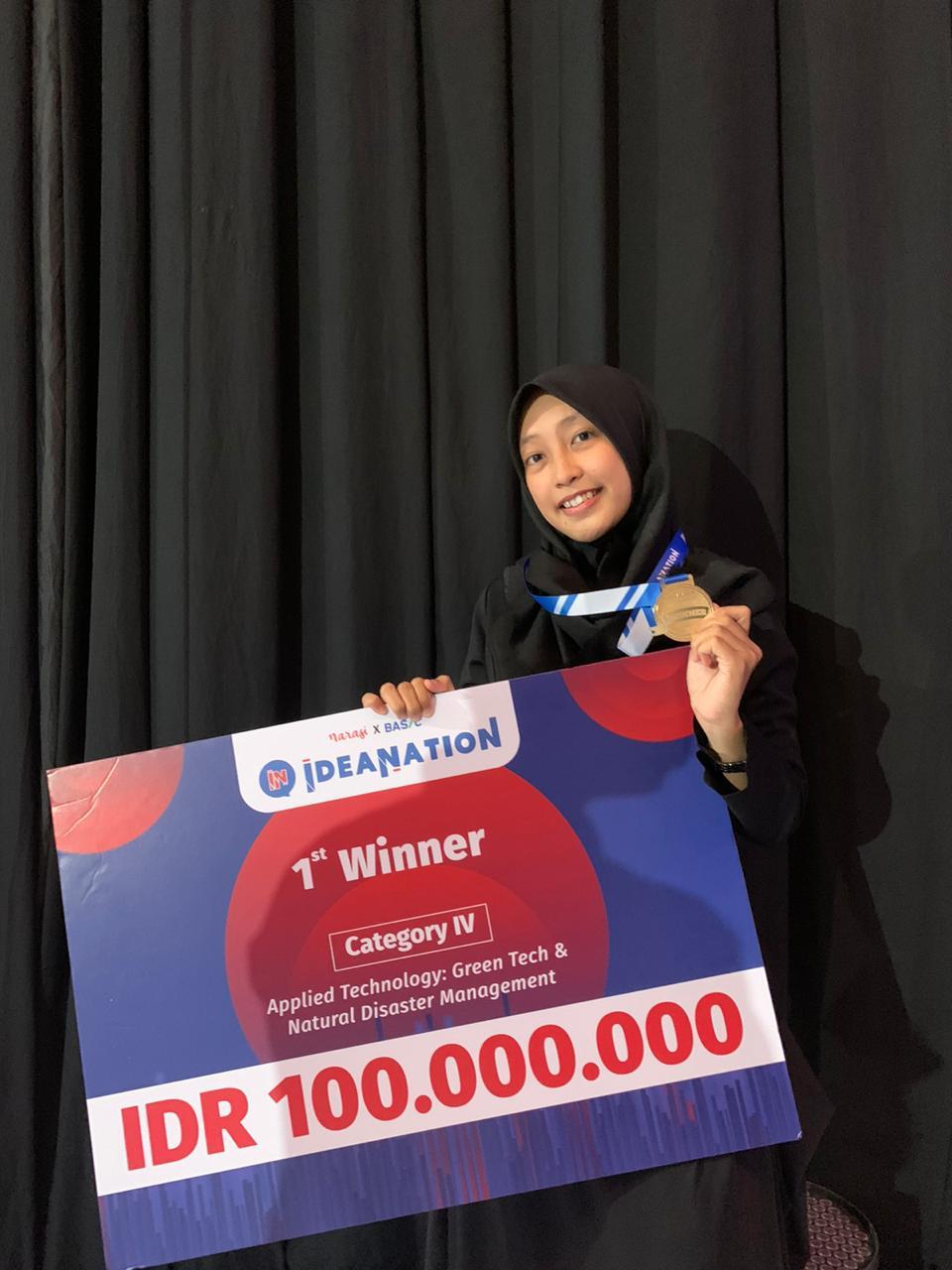 """Tim """"FILTEKS"""" Sukses Sabet Juara Pada Kompetisi Ideanation"""