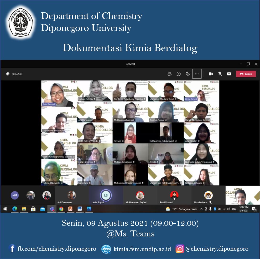 Agenda Kimia Berdialog